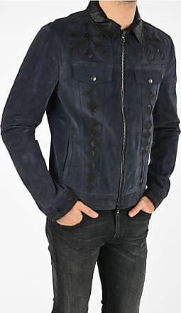 Diesel BLACK GOLD Suede Leather LYRICH Jacket size 46