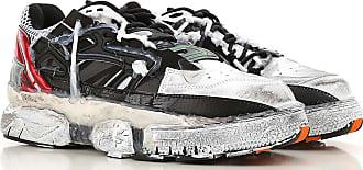 Maison Margiela Sneaker für Herren, Tennisschuh, Turnschuh Günstig im Sale, Schwarz, Leder, 2019, 39 40 41 42 43 44 45
