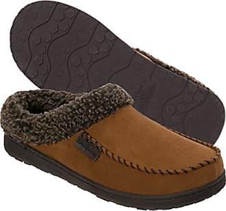 b916cde0104 Dearfoams Indoor Outdoor Mens Clog Slipper - Comfortable