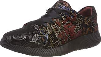 Laura Vita Womens Delphine 178 Low-Top Sneakers, Black (Noir Noir), 5 UK