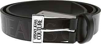Versace Jeans Couture Belts On Sale, Black, Genuine Leather, 2019, 36 38 40