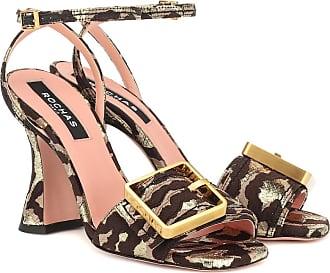 Rochas Sandalen aus Brokat