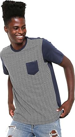 Globe Camiseta Globe Especial Chevron Azul-marinho/Branca