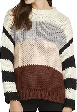 Volcom Womens Classy Time Sweater Pullover Donna | marrone/bianco/nero/beige/grigio