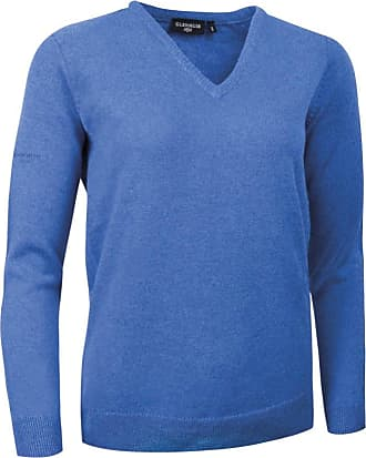 Glenmuir Ladies LKL2542VN V Neck Lambswool Golf Sweater Tahiti L