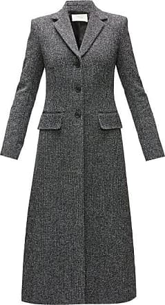 The Row Sua Single-breasted Wool-blend Tweed Coat - Womens - Black Multi