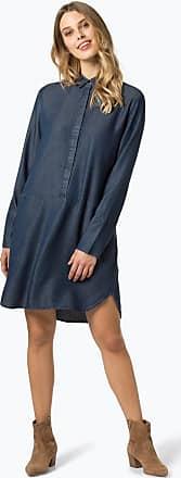 OPUS Damen Kleid - Wes Denim blau
