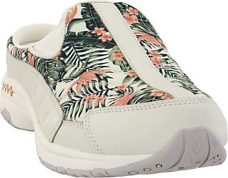 Easy Spirit Travel Time Womens Slip On 8.5 B(M) US Cream-Coral-Floral
