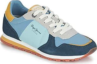 13692a5ba96688 Pepe Jeans London London Damen Verona W Pantone Blue Sneaker Blau (Summer  534)