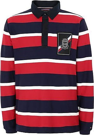 Tommy Hilfiger Tobert STP Rugby L//S VF Polo para Hombre