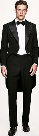 Hackett Mens Evening Tail Wool Suit | Size 40Regular | Black