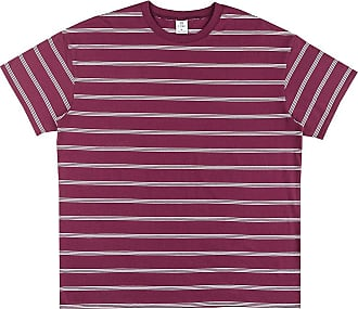 Zine Maya T-Shirt burgundy stripe