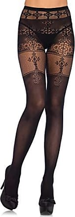 4368b5531 Leg Avenue Womens Spandex Opaque Tights with Filigree Detail