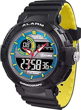 X-Games Relógio X-games Masculino Anadigi Xmppa267 Pxpy Azul Amarelo