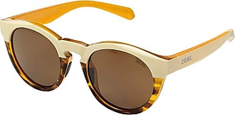 Zeal Optics Crowley (Ivory Tortoise/Polarized Copper Lens) Athletic Performance Sport Sunglasses