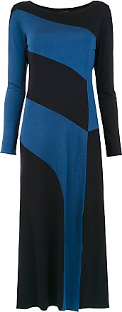Alcaçuz Vestido Lourenço midi - Azul