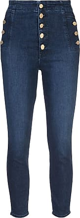 J Brand Natasha button-up skinny jeans - Azul