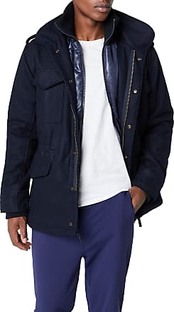 Brandit Mens M65 Voyager Wool Jacket, Blue (Navy 8), S