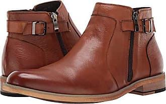 English Laundry Mens Teddy Chelsea Boot, Cognac, 12 M US