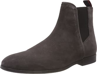 HUGO BOSS Mens Boheme_cheb_sd Chelsea Boots, Grey (Dark Grey 021), 11 UK
