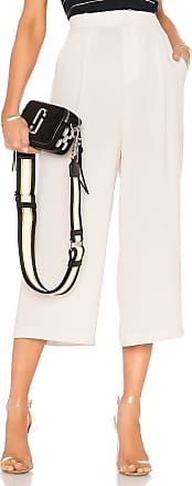 Vince High Waist Culotte Pant in Beige