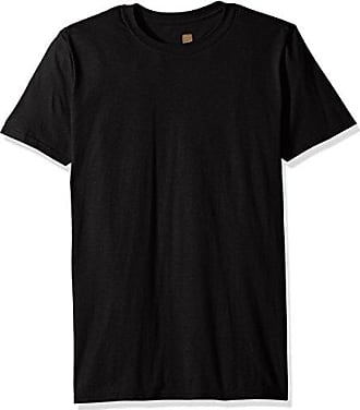 Gold Toe Mens Crew Neck T-Shirt, Black, Medium