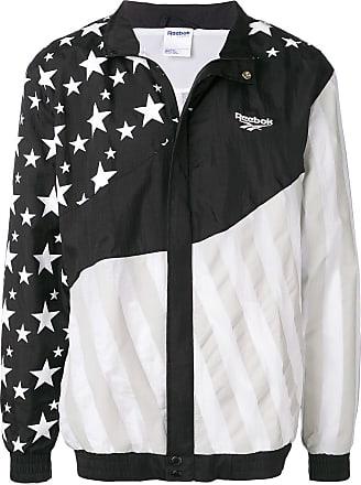 Reebok reflective panelled jacket - Black
