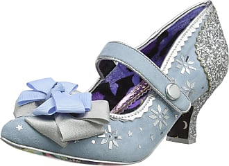 Irregular Choice Womens You Star Mid Heel Shoes, (Blue/Silver B), 3.5 (36 EU)