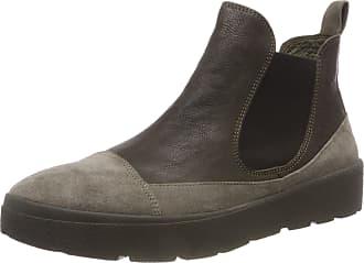 Think Womens Drunta_383090 Chelsea Boots, Green (63 Oliv/Kombi), 5.5 UK