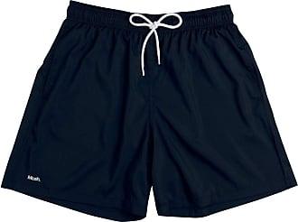 Mash Shorts de praia Mash LISO C/BORDADO MASH Masculino Preto P