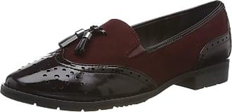 Jana Womens 8-8-24260-23 Loafers, Rot (Vino 502.0), 6.5 UK (40 EU)