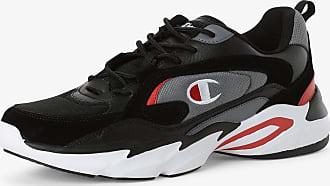 Champion Herren Sneaker mit Leder-Anteil schwarz