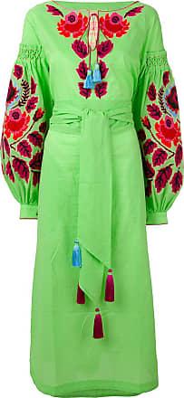 Yuliya Magdych Eden Tree dress - Green