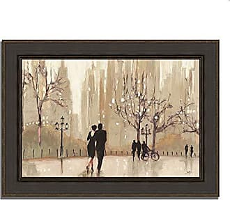 Tangletown Fine Art an Evening Out Neutral Framed Art Taupe