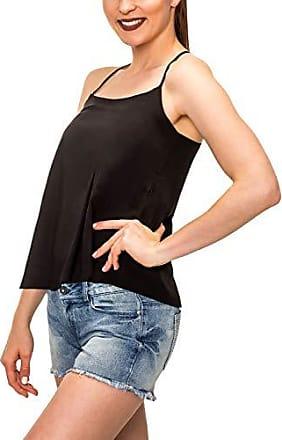 Katharine Hamnett Schwarz Glänzend Tunika Party Minikleid Top 8 10