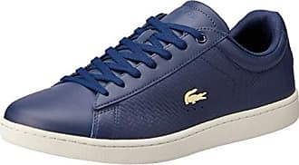 96a23645577f1b Lacoste Carnaby Evo 119 3 SFA, Sneaker Donna, Blu (Nvy/off Wht