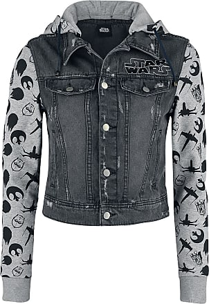 5875a35e54a5 Star Wars WINTER SALE - Star Wars - May The Force - Jeansjacke - schwarz