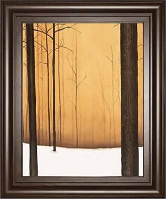 Classy Art Golden Twilight Framed Wall Art