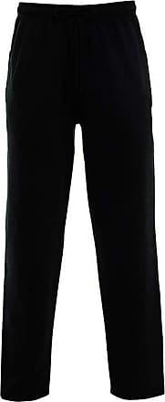 Parsa Fashions Mens Open Hem Jog Pants/Men Plain Jogging Bottoms Joggers Fleece Pants Gym Sports Trousers Plus Sizes Small to XXXXXL 5XL (6XL, Black)