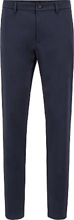BOSS Hugo Boss Slim-fit pants in water-repellent stretch fabric 34R Dark Blue