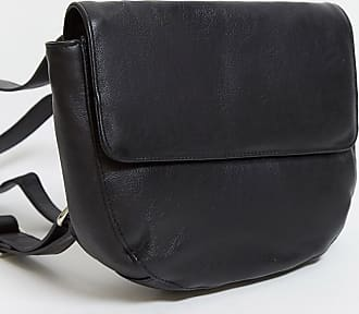 Urban Code leather multi way backpack and cross body bag in black