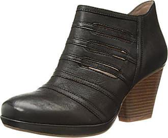 Dansko Womens Meadow Ankle Boot, Black Burnished Nubuck, 41 M EU (10.5-11 US)