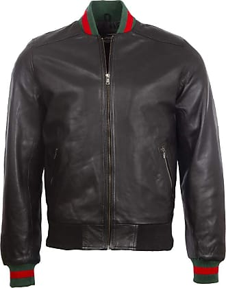 Aviatrix Mens Real Leather Fashion Bomber Jacket (R4CX) M Black