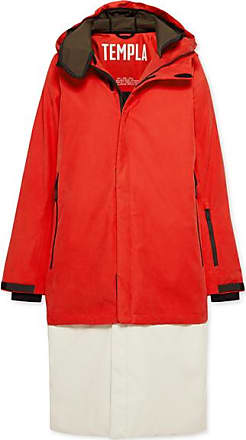 4b02fdf114a Templa 3l Tombra Convertible Hooded Cotton-blend Ski Coat - Red