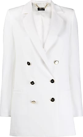 Elisabetta Franchi double-breasted blazer - White