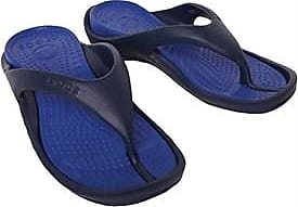 Crocs relaxed fit 3-point dual cushioned flip flops