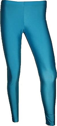Insanity Neon UV Lycra Leggings (Small/Medium, Sky Blue)