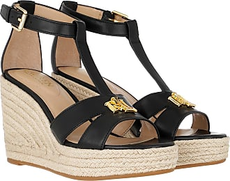 Lauren Ralph Lauren Sandals - Hale Casual Espadrilles Black - black - Sandals for ladies