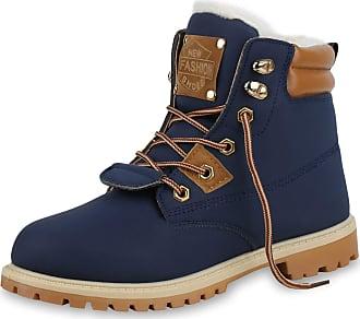Scarpe Vita Women Bootee Worker Boots Lined Synthetic Fur Tread Sole 170259 Dark Blue UK 5 EU 38