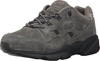 Propét Propet Womens Stability Walker Sneaker, Pewter Suede, 9.5 Narrow